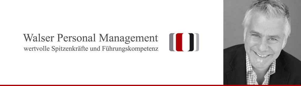 Jobs bei Walser Personal Management
